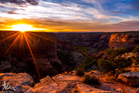 The Sun Sets on Canyon de Chelly