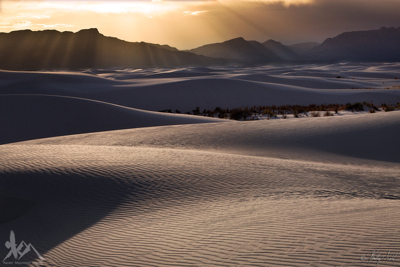 Evening At White Sands