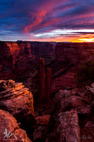 Dawn at Spider Rock